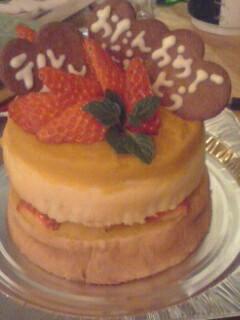 犬くん用のケーキ。