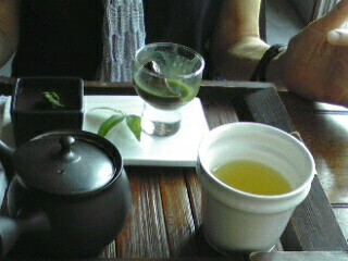 夏と帰省と日本茶と猫